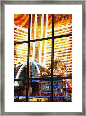 Mirage Reflection Framed Print by Richard Henne