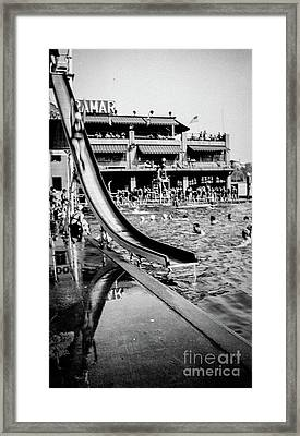 Miramar Pool  Framed Print