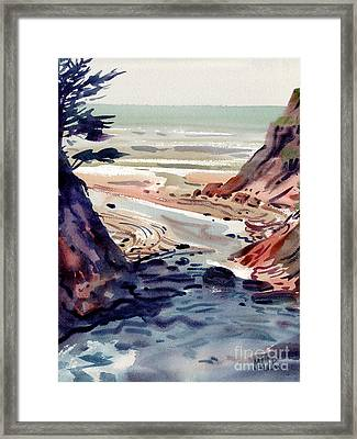 Miramonte Point Framed Print by Donald Maier
