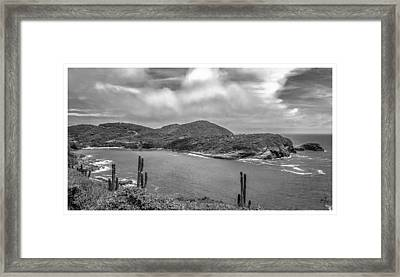 Mirante Do Forno - Buzios - Rj Framed Print