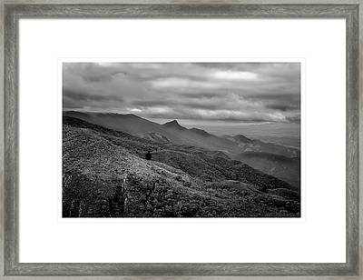 Mirante-pico Do Itapeva-campos Do Jordao-sp Framed Print