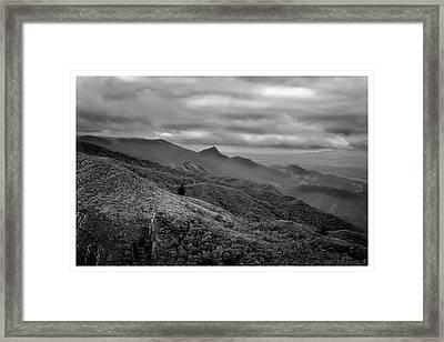 Mirante-pico Do Itapeva-campos Do Jordao-sp Framed Print
