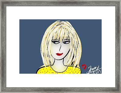 Miriam Framed Print