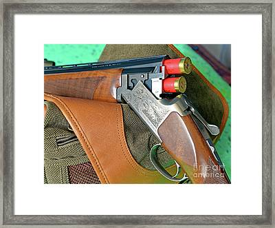 Loaded And Ready Framed Print