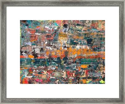 Miror View Framed Print by Rivka Waas