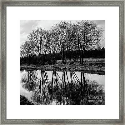 Mirroir Framed Print