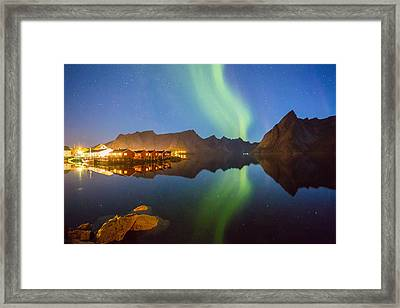 Mirror Framed Print by Alex Conu