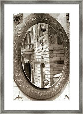 Mirror Framed Print by Andrea Simon