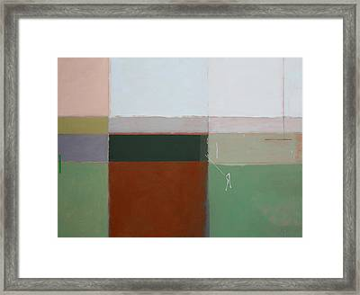 Mirror Framed Print by Andrew Crane