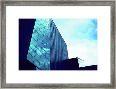 Mirror Building 1 Framed Print