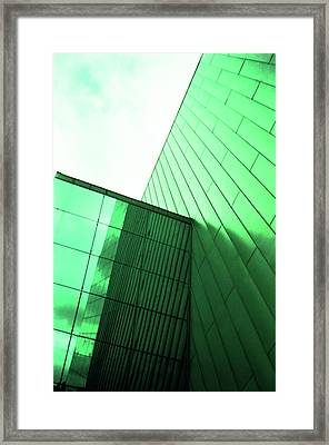 Mirror Building 2 Framed Print
