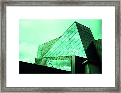 Mirror Building 3 Framed Print