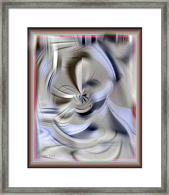 Mirror Framed Print by Gerry Tetz