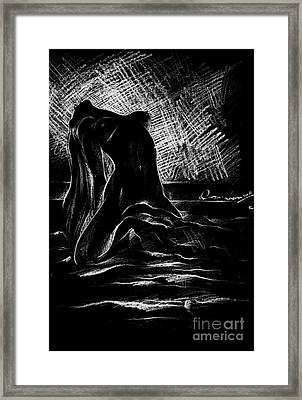 Visions Of Hope And Beauty Framed Print by Qasir Z Khan
