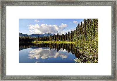 Framed Print featuring the photograph Mirror Image by Blair Wainman