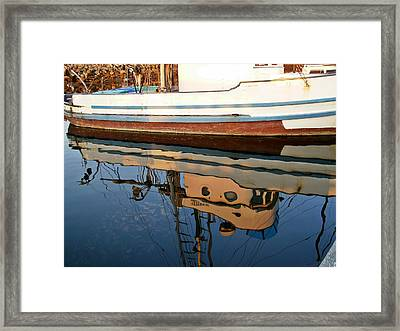 Framed Print featuring the photograph Mirror Image by Carol Grimes