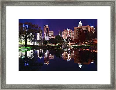 Mirror Image Of Charlotte Framed Print