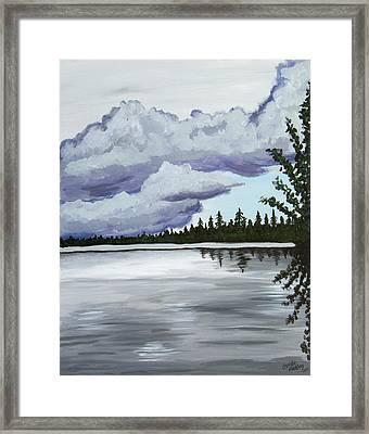 Mirror Lake Framed Print by Christie Nicklay
