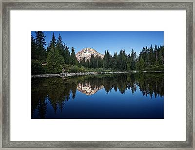 Mirror Lake Framed Print by Ian Good