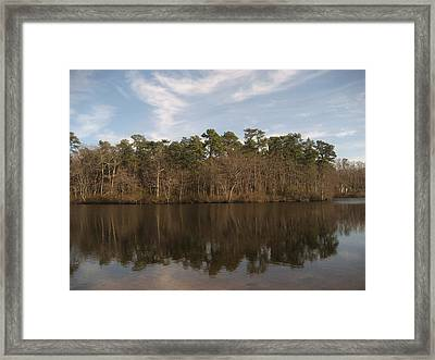 Mirror Lake Framed Print by Jennifer  Sweet