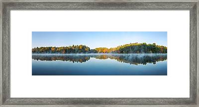 Mirror Lake Framed Print by Scott Norris