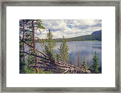 Mirror Lake Utah 3 Framed Print by Steve Ohlsen