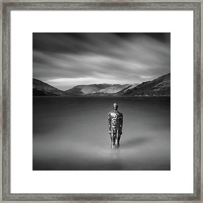 Mirror Man Framed Print