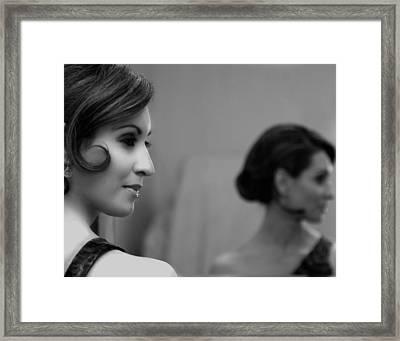 Mirror Framed Print by MAX Potega