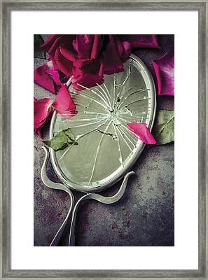 Framed Print featuring the photograph Mirror, Mirror... by Amy Weiss