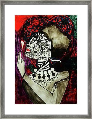 Mirror Mirror Framed Print by Gloria Ssali