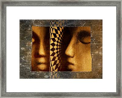 Mirror Mirror Framed Print by Jeff  Gettis