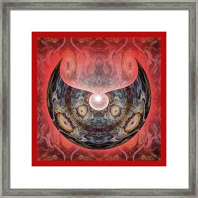 Mirror Nr. 18  Framed Print