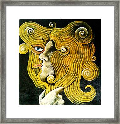 Mirror Framed Print by Paulo Zerbato