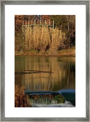 Mirror Spring 2 Framed Print by Douglas Barnett