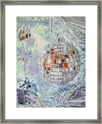 Mirror Tree Ornament Framed Print