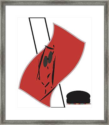 Mirrored Framed Print