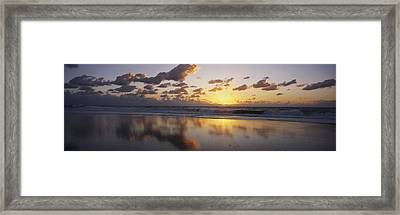 Mirrored Mexico Sunset Framed Print by Bill Schildge - Printscapes