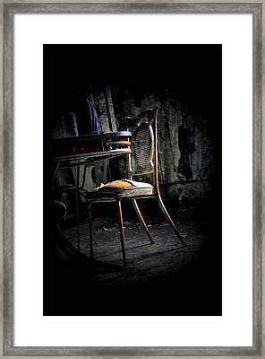 Mirrored Past Framed Print