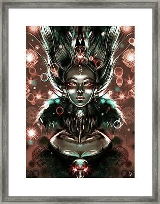 Mirroring Framed Print by Patricia C Bernhard