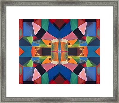 Mirrors In The Dream Room Framed Print by Clemens Greis