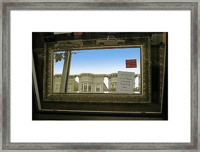 Mirrors Framed Print by Tom Hefko