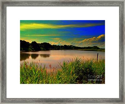 Misbegotten Sky Framed Print by Rick Maxwell