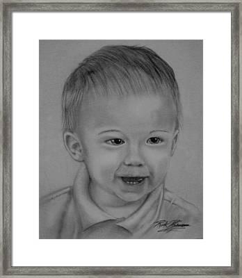 Mischievous Framed Print by Rick Primeau