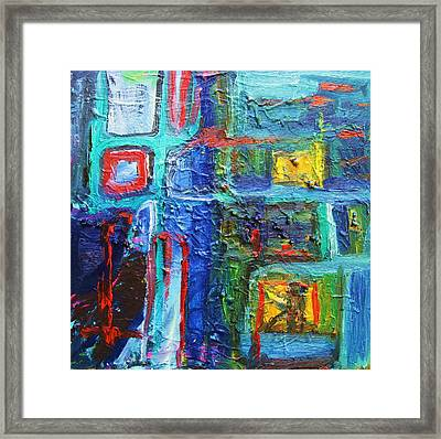 Mischievous Framed Print by Ron Klotchman