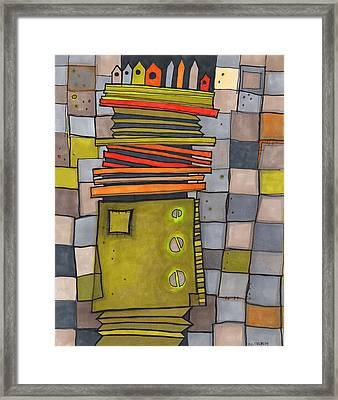 Misconstrued Housing Framed Print