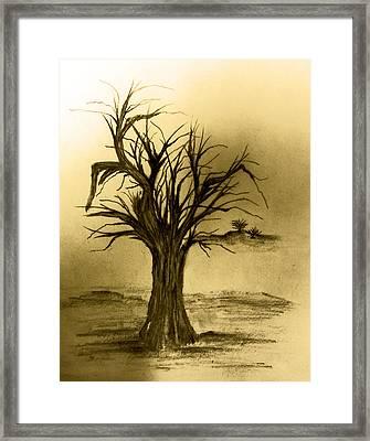 Misery Framed Print by John Krakora