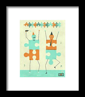 Puzzles Framed Prints