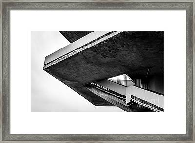 Stairs - 1st Prize Framed Print by Mate Orosz