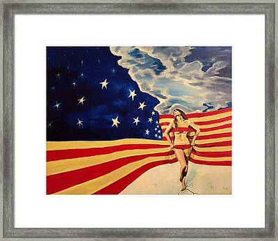 Miss America? Framed Print