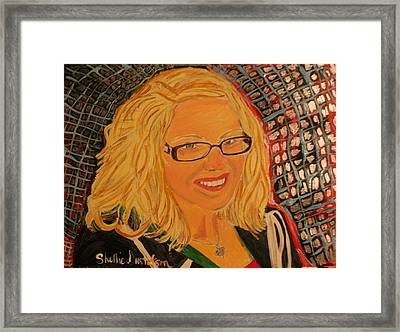 Miss Annabelle Framed Print by Shellie Gustafson